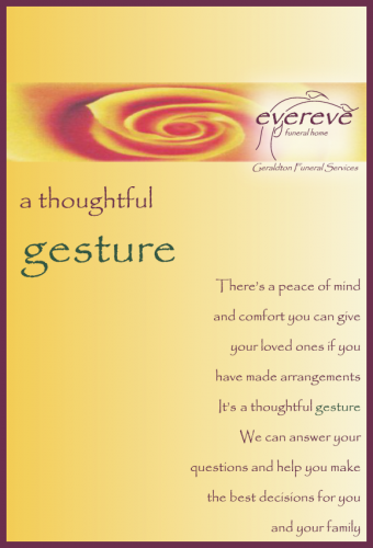 A Thoughtful Gesture Booklet